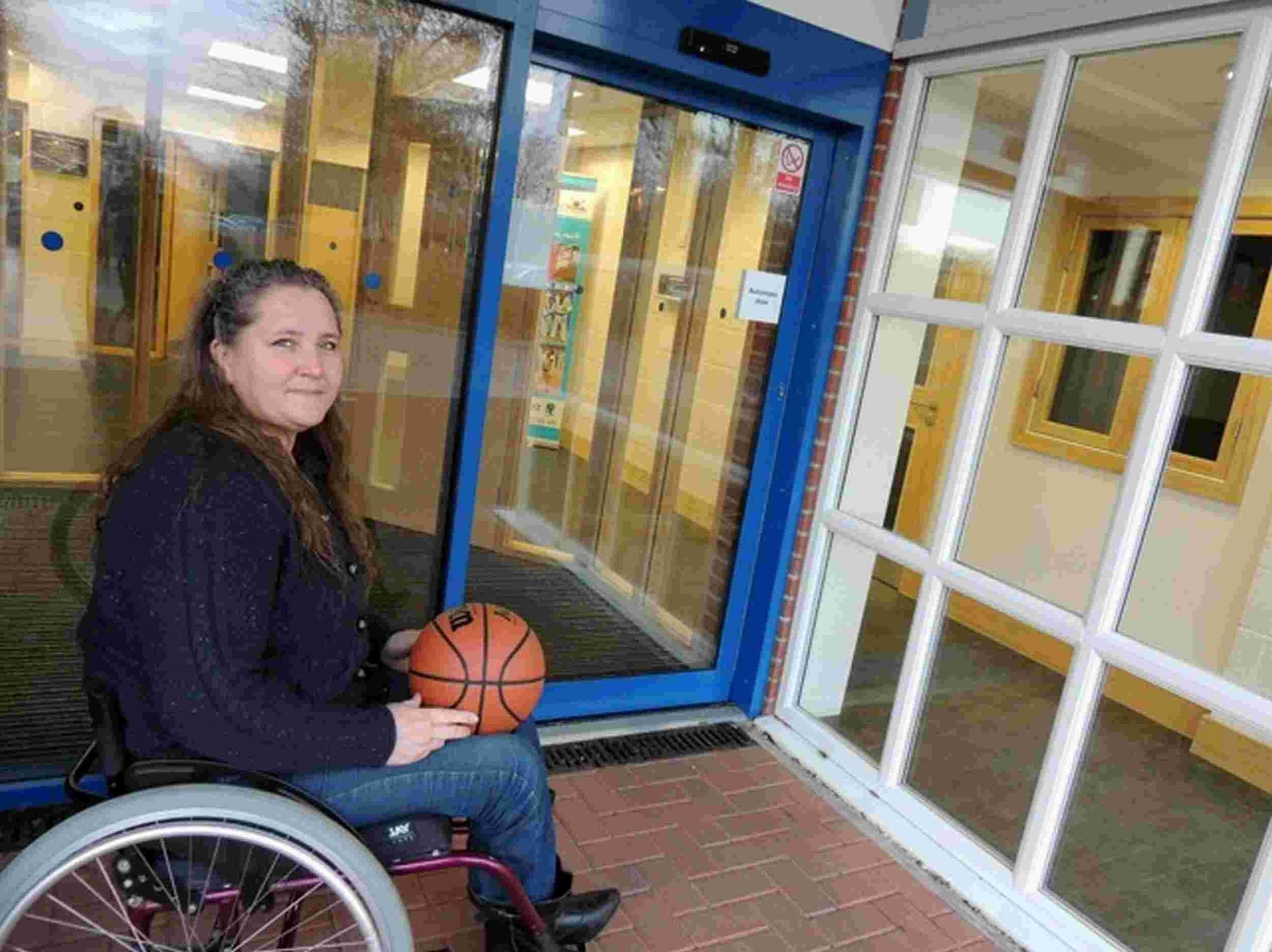 "Upset over new hall ""useless"" for wheelchair sports"