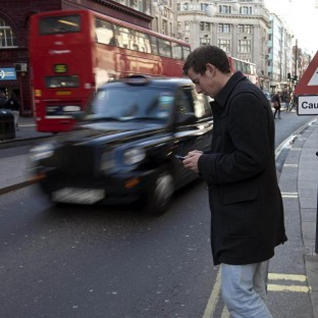 Salisbury Journal: Walking and texting could expose users to danger, according to researchers