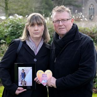 Salisbury Journal: Steve and Yolanda Turner with a picture of their son Sean