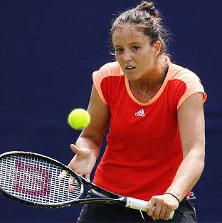 Laura Robson, pictured, h