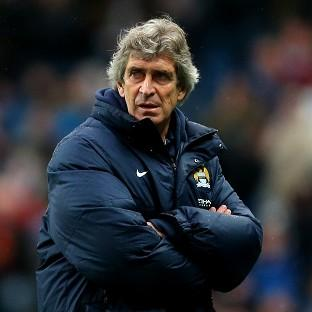 Manuel Pellegrini's Manchester City will take on Chelsea at Eastlands