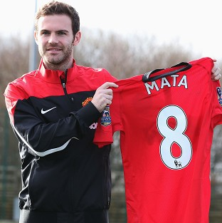 Juan Mata has moved to Old Trafford from Chelsea for �37.1million
