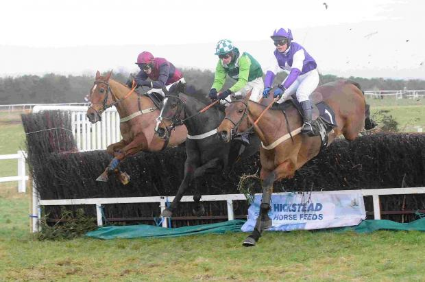 Latest win for Master Medic at Larkhill point-to-point