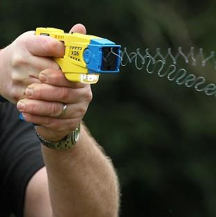 A police officer has lost his taser device in Windsor Great Park