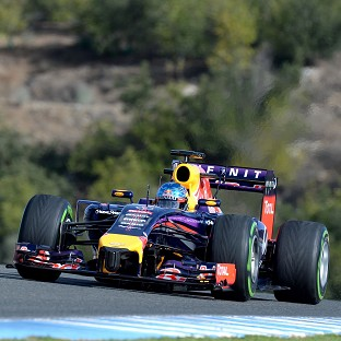 Sebastian Vettel struggled again in Jerez