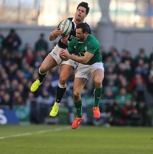 Sean Maitland, left, will sit out the England game