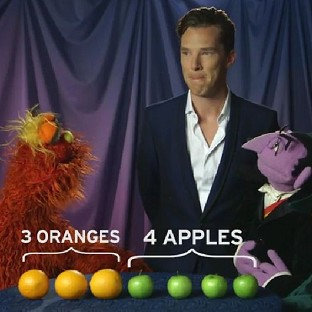 Benedict Cumberbatch gets fruity with Cou