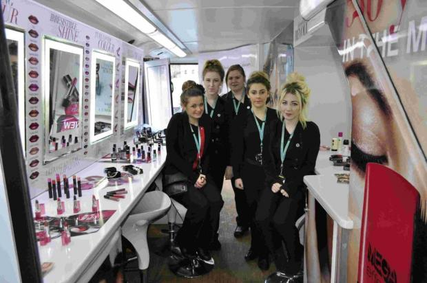 Salisbury Journal: Avon Beauty bus gives students experience