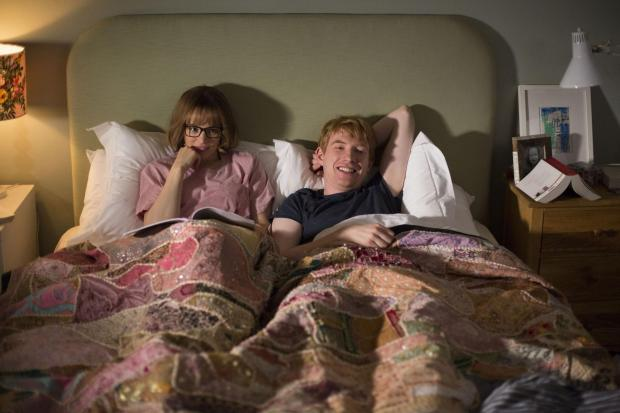Salisbury Journal: Rachel McAdams as Mary and Domhnall Gleeson as Tim. Picture by PA Photo/Universal Pictures (UK) Ltd