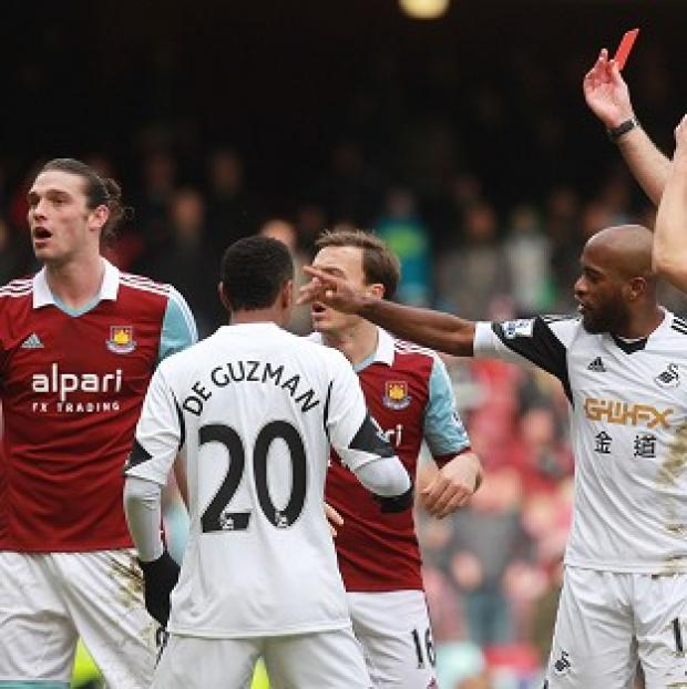 Salisbury Journal: West Ham have desperately tried to overturn Andy Carroll's red card