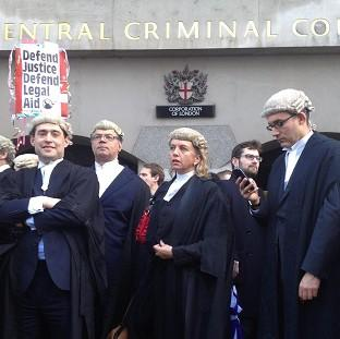 Salisbury Journal: Barristers around the country previously staged a walk-out over legal aid cuts.
