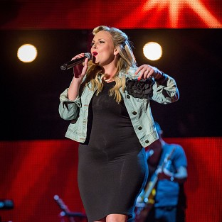 Lucy Winter flew in from Cyprus to take part in the blind auditions