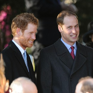 Prince Harry and the Duke of Cambridge have reportedly gone hunting in S