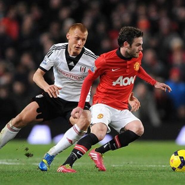 Salisbury Journal: Manchester United's Juan Mata, right, has demanded the team improve