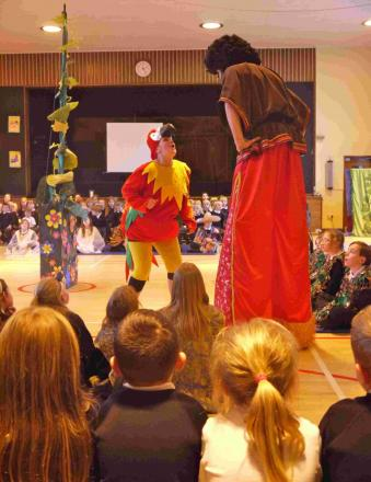 Jack and the Beanstalk at Mere Primary