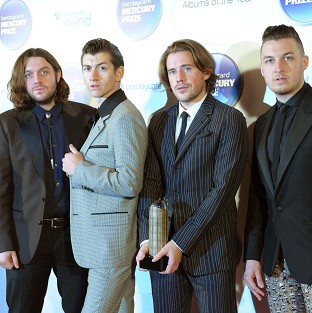 Arctic Monkeys are part of a rock revival in album sales