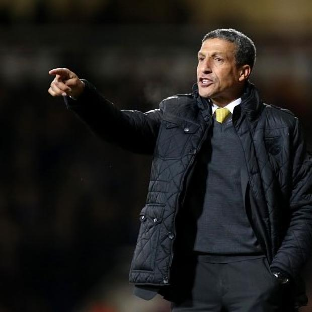 Salisbury Journal: Chris Hughton is concerned with his side's finishing