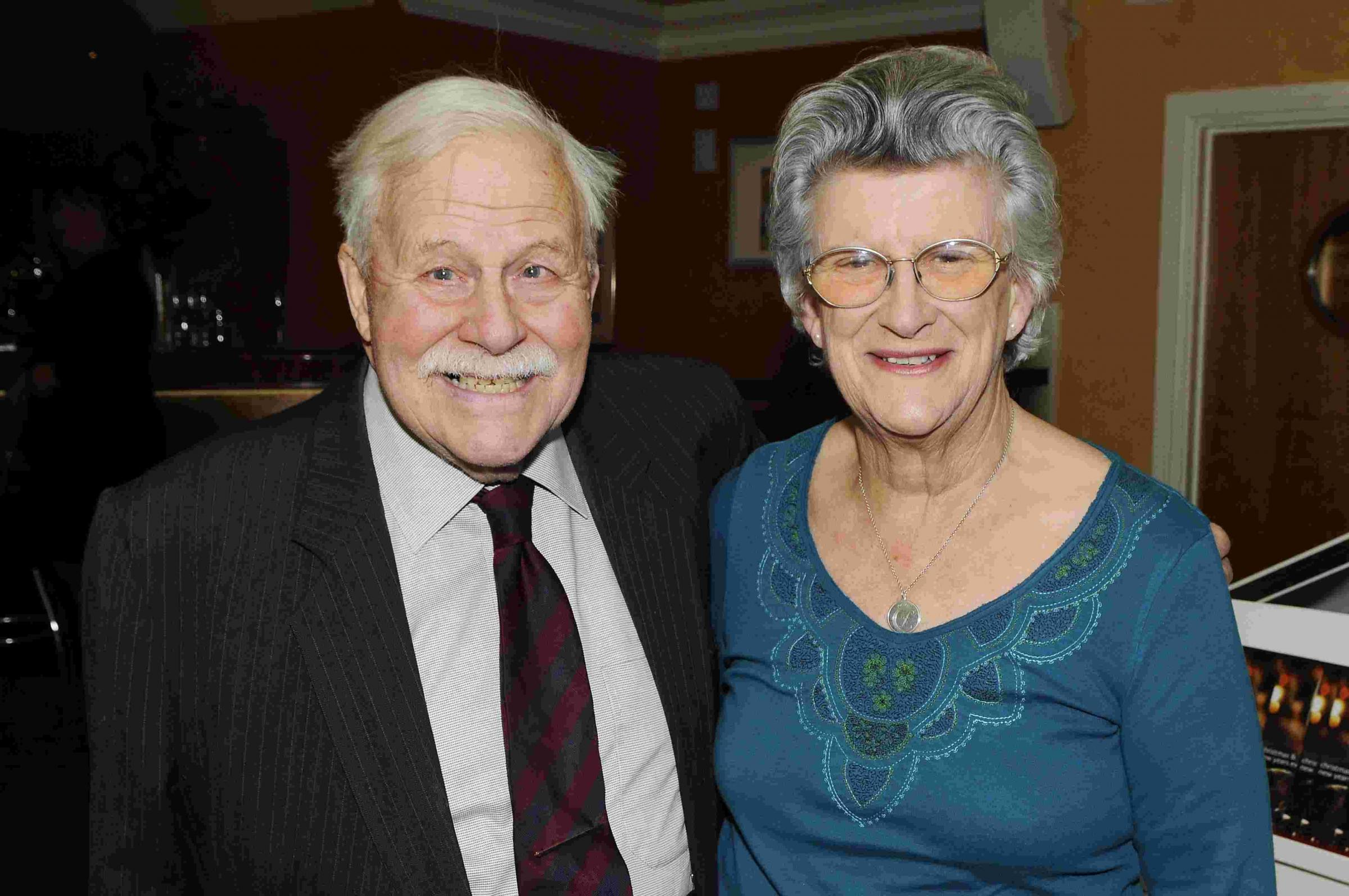 Peter and Jenny Baillie