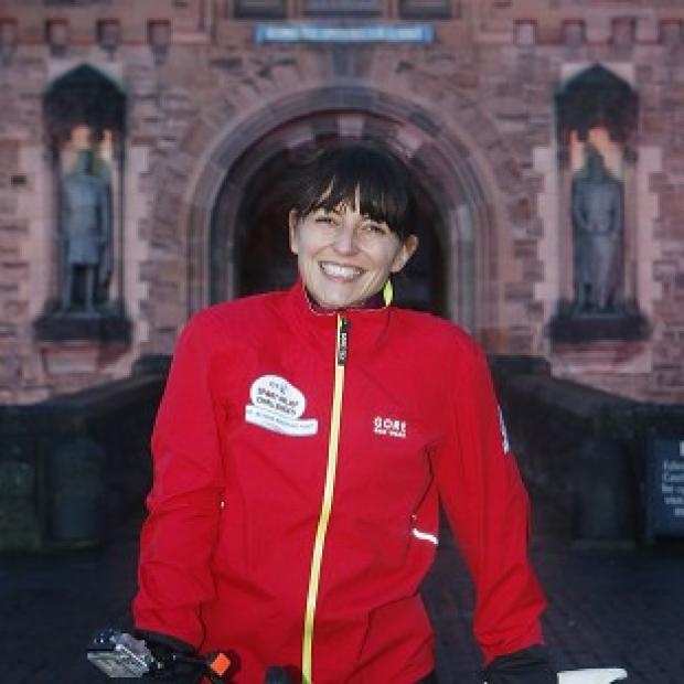 "Salisbury Journal: Davina McCall admits she is ""going a little mad"" as she nears the end of her epic trip from Edinburgh to London."