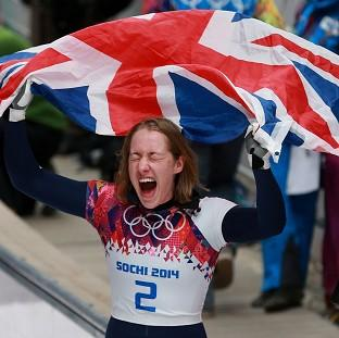 Salisbury Journal: Lizzy Yarnold savours the moment after winning gold