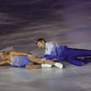 Jayne Torvil and Christopher Dean recently performed their Bolero routine ag