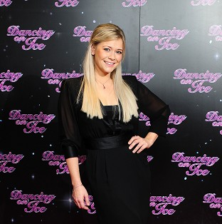 Singer Suzanne Shaw was voted out of Dancing On Ice