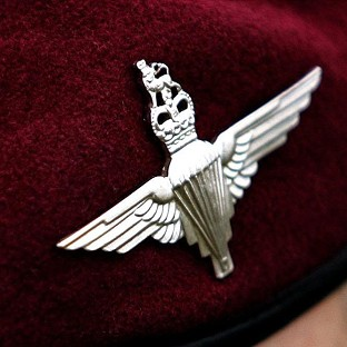 Joshua French served in the Parachute Regiment