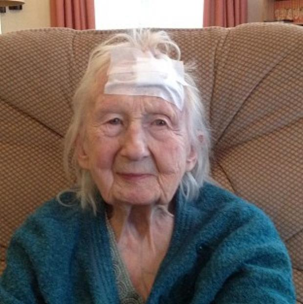 Salisbury Journal: Connie Hallford, who was badly beaten when three masked men burst into her home (Suffolk Constabulary/PA)