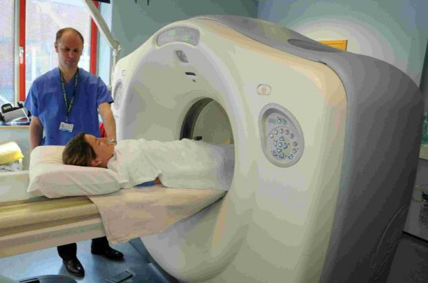Salisbury Journal: The hospital's existing CT Scanner