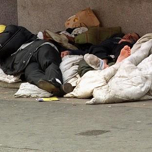 Salisbury Journal: Counts and estimates compiled by local councils in the autumn put the number of people sleeping on the streets at 2,414