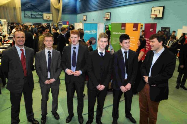 Higher education day at Bishop Wordsworth's