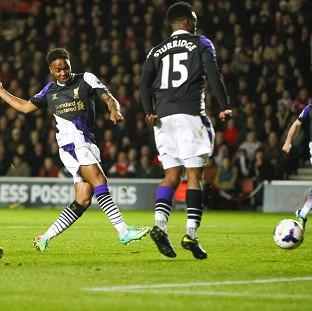Salisbury Journal: Raheem Sterling adds the second in Liverpool's victory