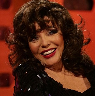 Joan Collins said it takes her half a
