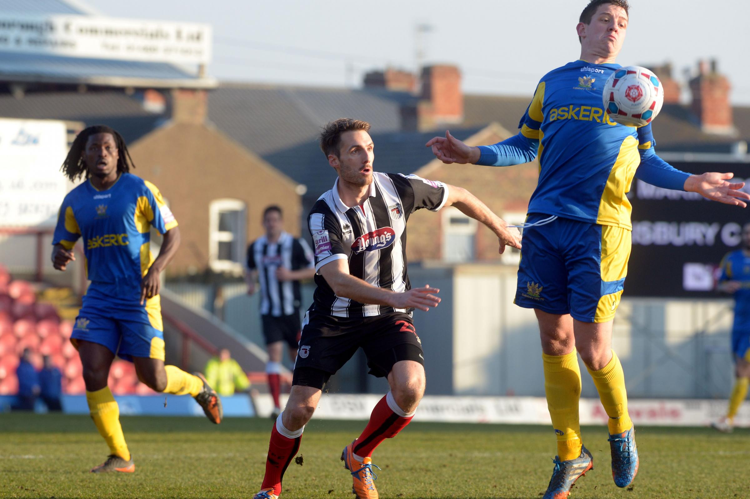 More away day heartache for Whites: GRIMSBY TOWN 2-0 SALISBURY CITY
