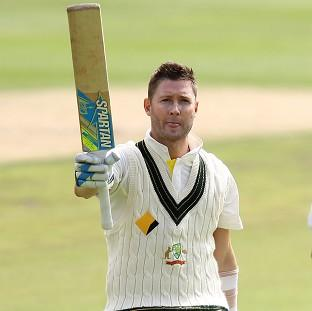 Salisbury Journal: Michael Clarke fought hard to register his 27th Test ton (AP)