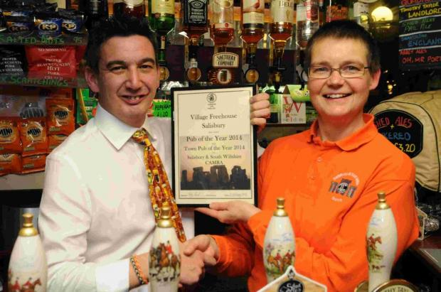 Accolade for city pub