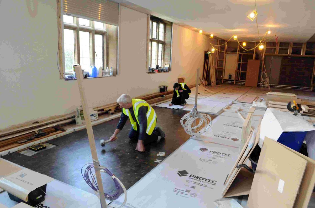 New Wessex Gallery takes shape