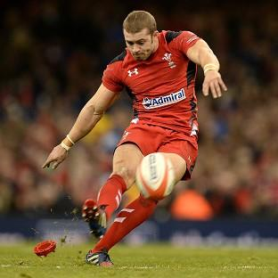 Leigh Halfpenny, pictured, has described Mike Brown as a 'great player'