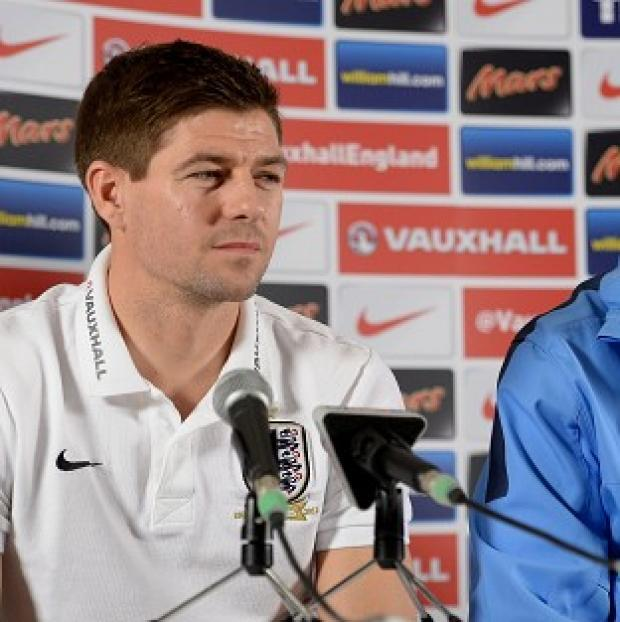 Salisbury Journal: Steven Gerrard, left, is excited about playing in the World Cup