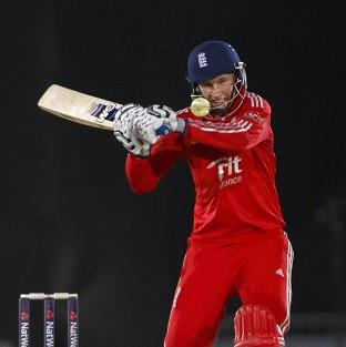 Joe Root took a painful blow on the thumb but recovered to hit his first ODI hundred.