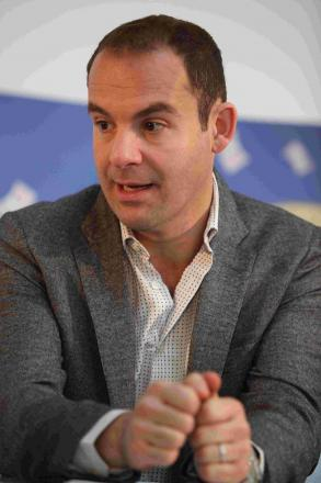 Martin Lewis gives cash support