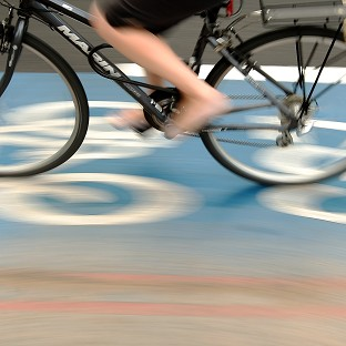 Poll shows cyclists 'hard to spot'