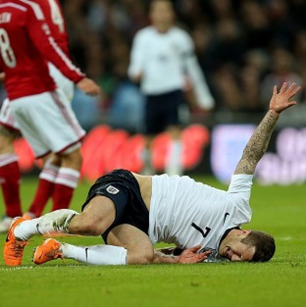 Salisbury Journal: Jack Wilshere suffered the injury while on international duty