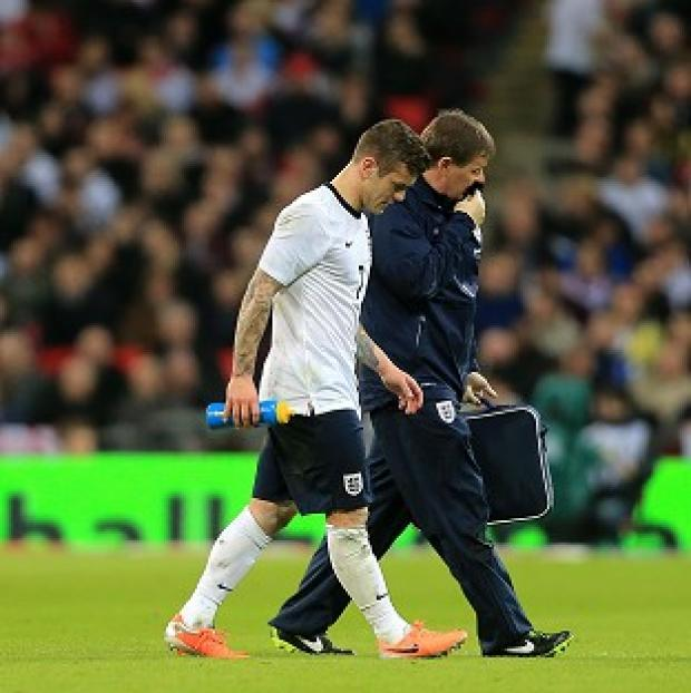 Salisbury Journal: Jack Wilshere had appeared fine following the tackle
