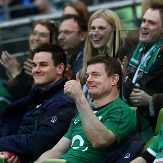 Salisbury Journal: Brian O'Driscoll helped Ireland secure a convincing win over Italy