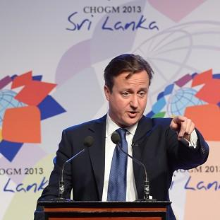 Salisbury Journal: Prime Minister David Cameron during November's summit in Colombo, Sri Lanka