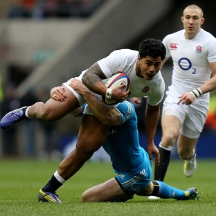 Manu Tuilagi could be on England's bench for the Italy game