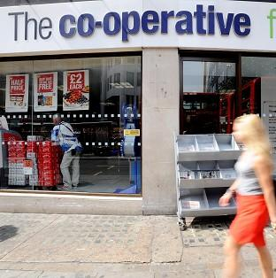 The Co-operative Group has accepted the resignation of chief executive E