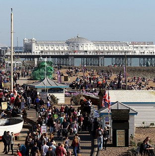 Brighton is among the seaside towns that will benefit from new investment.