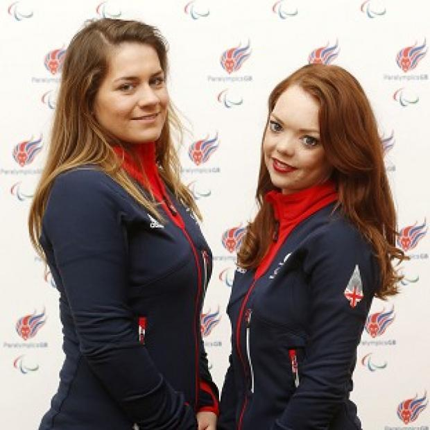 Salisbury Journal: Jade Etherington, right, and guide Caroline Powell, left, were left disappointed by slalom silver at the Winter Paralympics.